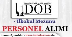 Antalya Devlet Opera ve Balesi Sözleşmeli Personel Alımı Yapıyor!