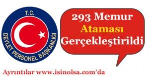 DPB 293 Memur Ataması Gerçekleştirildi! Hangi Kurumlara Atama Yapıldı