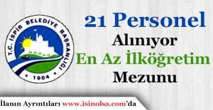 Erzurum İspir Belediye Başkanlığı 21 Personel Alımı Başvuruları Sürüyor