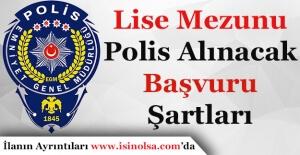 Lise Mezunu 2 Bin 500 Polis Alımı...