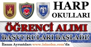 Milli Savunma Üniversitesi Harp Okulları Öğrenci Alım Başvuruları Başladı!