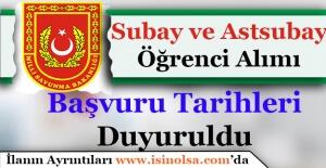 Milli Savunma ÜniversitesiSubay ve AstsubayAlımı Başvuru Tarihleri Duyuruldu