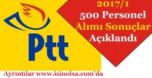 PTT 2017/1 500 Personel Alımı Sonuçları Açıklandı! Sorgulama Ekranı