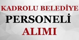 Yozgat Özükavak Belediyesi Kadrolu Personel Alımı