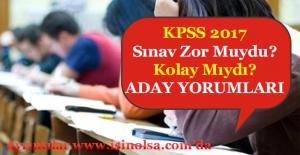 2017 KPSS Soruları Zor Muydu? Kolay Mıydı? KPSSÖğrenci Yorumları