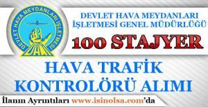 DHMİ 100 Stajyer Hava Trafik Kontrolörü Alımı Yapıyor!