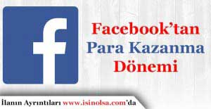 Facebook Para Kazanma Yöntemleri! Facebook'tan Nasıl Para Kazanılır?