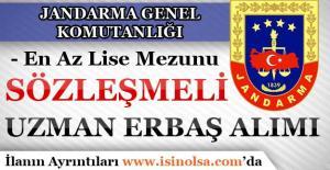 Jandarma Sözleşmeli Uzman Erbaş Alımı Başvuru Kılavuzu Yayımladı!