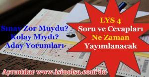 LYS-4 Sosyal Bilimler...