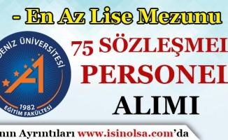 Akdeniz Üniversitesi 75 Sözleşmeli Personel Alım İlanı Yayımladı!
