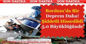 Bodrum'da5.0 Büyüklüğünde Yeni Bir Deprem Daha Oldu! Hasar Durumu Nedir