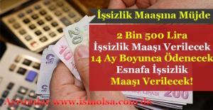 İşsizlik Maaşına Önemli Düzenleme! 2 Bin 500 Lira Maaş Verilecek!