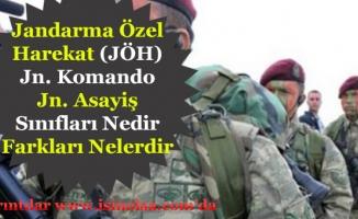 Jandarma Özel Harekat (JÖH) Jandarma Komando ve Asayiş Emniyet Jandarması Farkları Nedir?