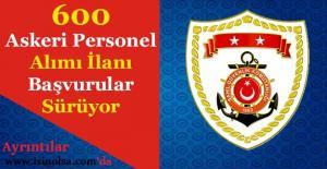 Sahil Güvenlik Komutanlığı 600 Askeri Personel Alımı Başvuruları Sürüyor!