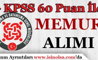SYDV KPSS 60 Puan İle Konya'da Personel Alımı Yapıyor!
