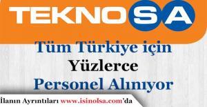 Teknosa Tüm Türkiye için Yüzlerce Mağaza Personeli Alımı Yapıyor! En Az Lise Mezunu