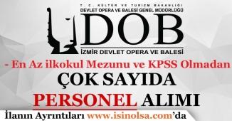 Devlet Opera ve Balesi Müdürlüğü Farklı İllerde Personel Alımı Yapıyor