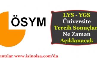 ÖSYM LYS Üniversite Tercih Sonuçları Ne Zaman Açıklanacak?
