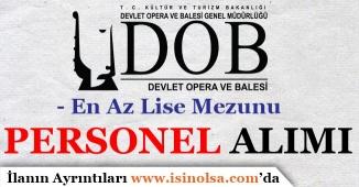 Antalya ve Samsun DOB En Az Lise Mezunu Personel Alım İlanı Yayımladı!