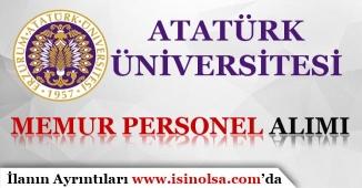 Atatürk Üniversitesi Avukat Alımı Yapıyor!