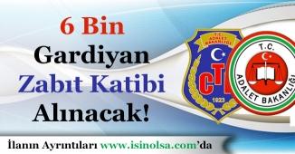 Adalet Bakanlığı 6 Bin İKM ve Zabıt Katibi Memuru Alımı Yapacak!