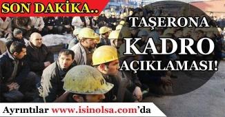 Bekir Bozdağ'dan Son Dakika Taşeron Açıklaması