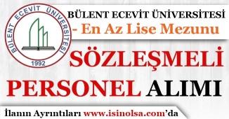 Bülent Ecevit Üniversitesi Sözleşmeli Personel Alım İlanı Yayımladı!