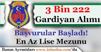 Ceza ve Tevkifevleri Genel Müdürlüğü 3 Bin 222 Gardiyan (İKM) Alıyor! Kimler Başvurabilir