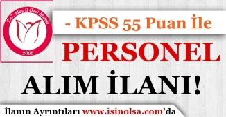 Muş İl Özel İdaresi KPSS 55 Puan İle Sözleşmeli Personel Alım İlanı