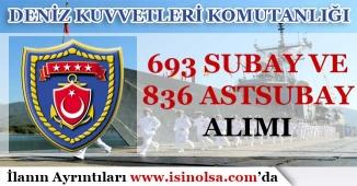 DKK 693 Subay, 836 Astsubay Alımı