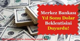 Merkez Bankası 2018 Yılı Dolar Kuru Ne Kadar Olacak Beklentisini Duyurdu!