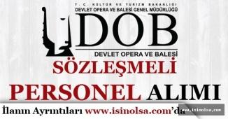Mersin Devlet Opera ve Balesi KPSS'siz Sözleşmeli Personel Alımı Yapacak