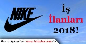 Nike Türkiye İş İlanları 2018