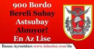 Özel Kuvvetler Komutanlığı 900 Bordo Bereli Subay ve Astsubay Alıyor! En Az Lise Mezunu