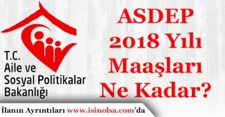 ASDEP 2018 Yılı Maaşları Ne Kadar?