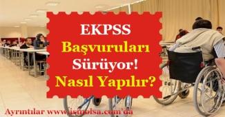 EKPSS Başvuruları Sürüyor! Nasıl Başvuru Yapılır?