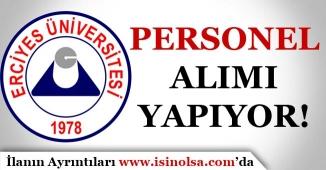Erciyes Üniversitesi Avukat Alım İlanı