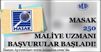Maliye Bakanlığı Mali Suçları Araştırma Kurulu MASAK 250 Maliye Uzmanı Alacak
