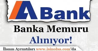 ABank (Alternatifbank) Memur Alımı Yapıyor!