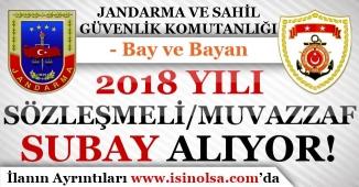 Jandarma ve Sahil Güvenlik 2018 Yılı Subay Alımı Yapıyor!