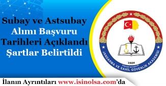 JSGA Subay ve Astsubay Alımı Tarihleri ve Şartları Duyuruldu!