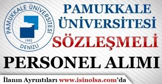 Pamukkale Üniversitesi Sözleşmeli Hemşire Alımı Yapıyor