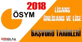 2018 Lisans ve Önlisans KPSS Başvuru Tarihleri Ne Zaman?
