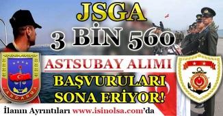 JSGA 3 Bin 560 Astsubay Alımı Başvuruları Sona Eriyor! KPSS En Az 60 Puan İle