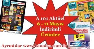 A 101 Aktüel İndirimli Ürünler Broşürü 6 Mayıs - 11 Mayıs Bu Hafta Neler Gelecek?