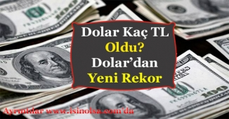Dolar Tarihi Rekor Kırdı! Dolar Kaç TL Oldu?