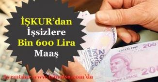 İŞKUR İşsizlere Aylık Bin 600 Lira Maaş Veriyor! Başvuru Detayları Nedir?