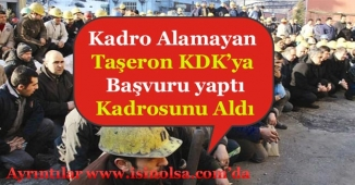 Kadro Alamayan Taşeron İşçi KDK'ya Başvuru Yaptı! Kadroya Alındı