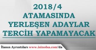 Sağlık Bakanlığı 2018/4 ile Yerleşen Adaylar 2018/5 Tercihi Yapamayacak!