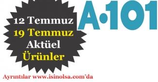 A101 12 Temmuz - 19 Temmuz Aktüel Ürünleri